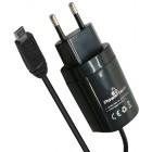 POWERTECH φορ.πρίζας τοίχου με καλώδιο USB MICRO, 2.1A- POWERTECH