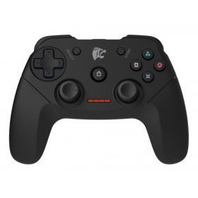 ROAR Gamepad για PC/PS2/PS3, Wireless, Vibration, 600mAh, Black- ROAR