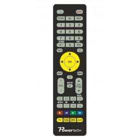 Power  tech Τηλεχειριστήριο που προγραμματίζεται μέσω Η/Υ κατάλληλο για 4 συσκευές.- Power Tech - PT-078