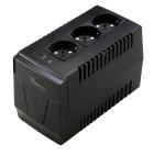 Power Tech σταθεροποιητής ρεύματος 1500VA, με 3 εξόδους πρίζας Γερμανικού τύπου- Power Tech - PT-AVR-1500