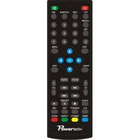 Power tech χειριστήριο συμβατά με το δεκτή PT-MPEG4-HD2, με μπλε συσκευασία ( το ΜΙΚΡΟ)- Power Tech - PT-RC1