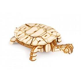 ROLIFE Ξύλινο 3D πάζλ χελώνα TG275, 63τμχ- ROLIFE