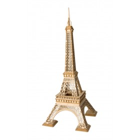 ROLIFE Ξύλινο 3D πάζλ πύργος του Άιφελ, TG501, 121τμχ- ROLIFE