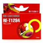 Συμβατό inkjet EPSON- T1284 YELLOW- BULK - RE-T1284Y