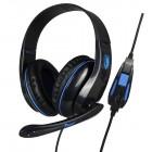 SADES Gaming headset (Tpower) - Blue- SADES