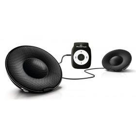POWERTECH MP3 Player με Philips φορητό παθητικό ηχείο SBP1120, μαύρο- POWERTECH
