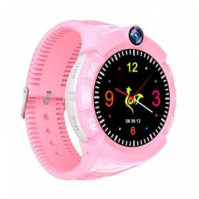 GPS Παιδικό ρολόι χειρός SD-S02-PK, SOS-Βηματομετρητής, ροζ- UNBRANDED