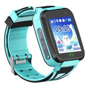GPS Παιδικό ρολόι χειρός SD-TD-16-BL, SOS-Βηματομετρητής, μπλέ- UNBRANDED