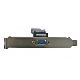 Powertech adapter DB15 αρσενικό σε 16PIN flat καλώδιο με βάση.- Power Tech - SLOT-002