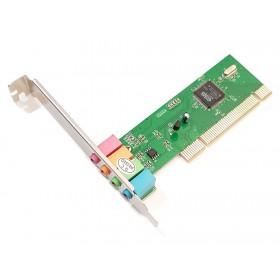 POWERTECH Κάρτα Επέκτασης PCI to 6 channel Audio, Chipset CM8738- POWERTECH
