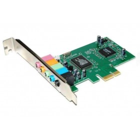 POWERTECH Κάρτα Επέκτασης PCI-e to 6 channel Audio, Chipset CM8738- POWERTECH