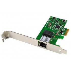 POWERTECH Κάρτα Επέκτασης PCI-e to LAN 10/100/1000, Chipset 8111E- POWERTECH