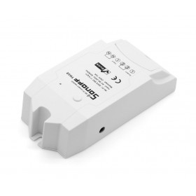 SONOFF Smart Διακόπτης TH10, υγρασίας - θερμοκρασίας, 10A, WiFi, λευκό- SONOFF