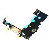 Καλώδιο Flex charging port για iPhone 8, χρυσό- UNBRANDED