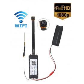 Mini Ασύρματη κρυφή κάμερα με καταγραφή, Wi-Fi, 3000mAh- BULK
