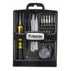 SPROTEK Repair Tool kit STE-3010, για smartphones, κασετίνα, 19τμχ- SPROTEK