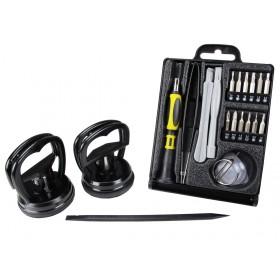 SPROTEK Repair Tool kit, για smartphones, Κασετίνα, 22 τεμ.- SPROTEK