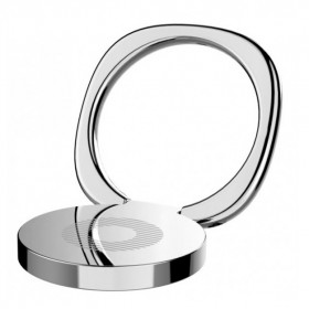 BASEUS finger ring holder Symbol SUMQ-0S, ασημί- BASEUS