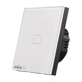 BROADLINK Έξυπνος Διακόπτης τοίχου TC2, Touch & Remote, Μονός- BROADLINK