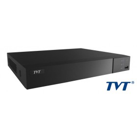 TVT Δικτυακό καταγραφικό υψηλής ευκρίνειας TD-3208Η1, NVR, 8 Κανάλια- TVT