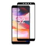 POWERTECH Tempered Glass 3D για Xiaomi Redmi S2/Redmi Y2, μαύρο- POWERTECH