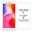 POWERTECH Tempered Glass 5D Full Glue για Xiaomi Redmi 6/6A, White- POWERTECH