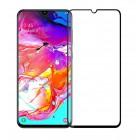 POWERTECH Tempered Glass 5D, Full Glue, Samsung A70 SM-A705F, μαύρο- POWERTECH