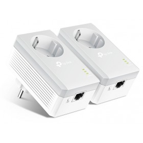 TP-LINK AV600 Passthrough Powerline Starter Kit TL-PA4010P, Ver. 4.0- TP-LINK