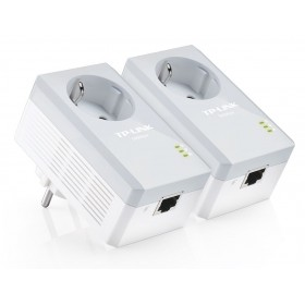 TP-LINK AV500 Powerline Ad.με Πρίζα Starter Kit - TL-PA4010PKIT- TP-LING - TL-PA4010PKIT-V2