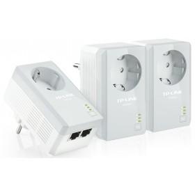 TP-LINK TL-PA4010PΤKIT 500Mbps 3-Pack- TP-LING - TL-PA4010PT-KIT