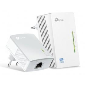 TP-LINK Wi-Fi AV600 Powerline Extender Kit TL-WPA4220, 300Mbps, Ver. 4.0- TP-LINK