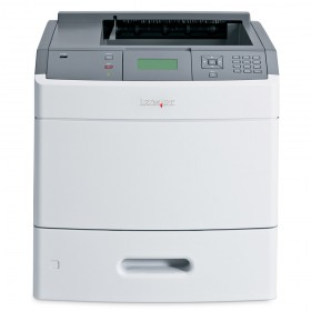 LEXMARK used Printer T654dn, Laser, Mono, με toner από 10% εώς 50%- LEXMARK