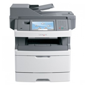 LEXMARK used Multifunction Printer X466de, Mono, Laser, toner 30-100%- LEXMARK