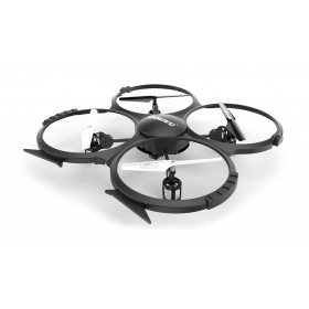 UDIRC Drone U818A HD, HD Camera 30fps, LCD controller, 6-Axis, μαύρο- UDIRC