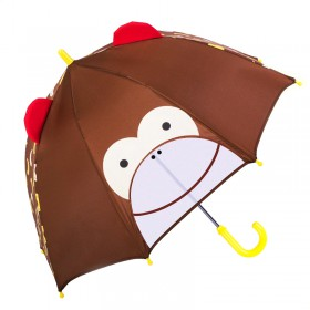 JIPILI παιδική ομπρέλα 3D UMB-0001, μαϊμού- JIPILI
