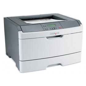 LEXMARK used Printer E360DN, Laser, Mono, no Toner/Drum- LEXMARK