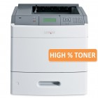 LEXMARK used Printer T654dn, Laser, Mono, Extra Tray, High Toner- LEXMARK