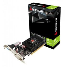 BIOSTAR VGA NVIDIA GeForce GT710 VN7103THX6 Low Profile, DDR3 2GB, 64bit- BIOSTAR