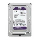 """WD Purple Surveillance Σκληρός Δίσκος 3.5"""" 1TB, 64MB, 5400RPM, SATA III WD10PURZ"""