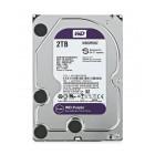 """WD Purple Surveillance Σκληρός Δίσκος 3.5"""" 2TB, 64MB, 5400RPM, SATA III WD20PURZ"""