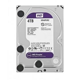 """WD Purple Surveillance Σκληρός Δίσκος 3.5"""" 4TB, 64MB, 5400RPM, SATA III- WD"""
