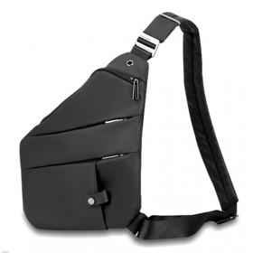 ARCTIC HUNTER τσάντα crossbody XB00041-BK, αδιάβροχη, μαύρη- ARCTIC HUNTER