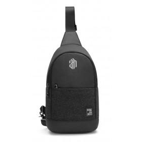 ARCTIC HUNTER τσάντα Crossbody XB00064-BK, αδιάβροχη, μαύρη- ARCTIC HUNTER