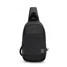 ARCTIC HUNTER τσάντα Crossbody XB0060-BK, αδιάβροχη, μαύρη- ARCTIC HUNTER