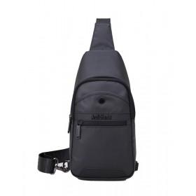 ARCTIC HUNTER τσάντα Crossbody XB13001-BK, αδιάβροχη, μαύρη- ARCTIC HUNTER
