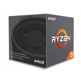 AMD CPU Ryzen 3 1300X, 3.5GHz, 4 Cores, AM4, 10MB, Wraith Stealth cooler- AMD