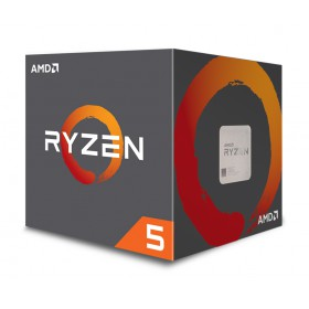 AMD CPU Ryzen 5 2600, 3.4GHz, 6 Cores, AM4, 19MB, Wraith Stealth cooler- AMD