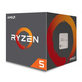 AMD CPU Ryzen 5 2600X, 3.6GHz, 6 Cores, AM4, 19MB, Wraith Spire cooler- AMD