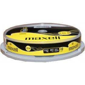 MAXELL CD-R 80min 700mb 52x 10 spindle- MAXELL - CD0192