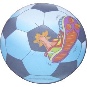 R.S CLOTH mouse Pad σε σχήμα ποδοσφαιρικής μπάλας με ποδοσφαιρικό παπούτση   220 X 220 X 3mm- BULK - MP-1